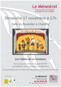 Affiche fables de la Fontaine